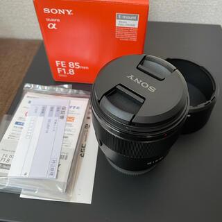 SONY - SEL85F18 FE 85mm F1.8 SONY ソニー Eマウント