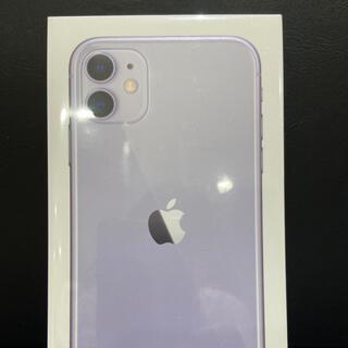 Apple - iphone 11 パープル 128GB
