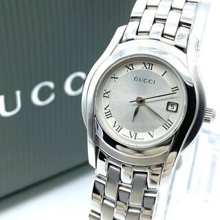 Gucci - 良品☆GUCCIグッチ 新品電池 5500L  レディース腕時計