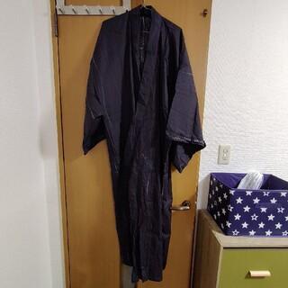 【値下げ】メンズ 浴衣 Lサイズ 帯・巾着セット(浴衣)