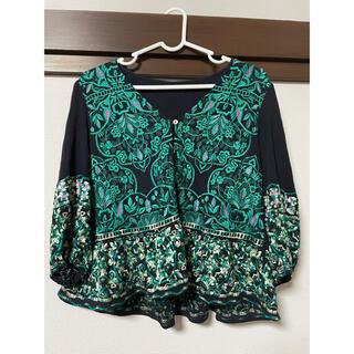グレースコンチネンタル(GRACE CONTINENTAL)のサークル刺繍トップ(Tシャツ/カットソー(半袖/袖なし))