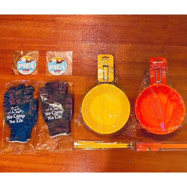 UNIFLAME(ユニフレーム)のユニフレーム UNIFLAME カラシェラ、カラ箸 等 8点セット(新品未使用) スポーツ/アウトドアのアウトドア(食器)の商品写真