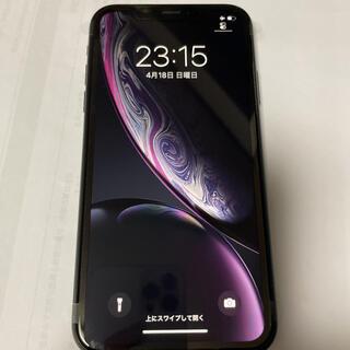 iPhone - SIMロック解除しました!!新品iPhone XR 128GB ブラック
