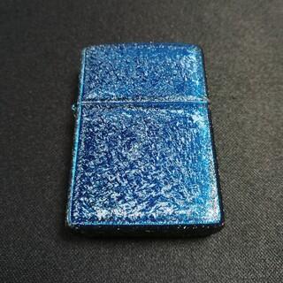 ジッポー(ZIPPO)のZIPPO メタリックブルー 新品(タバコグッズ)