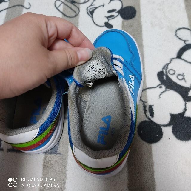 FILA(フィラ)のフィラ キッズ 18センチ キッズ/ベビー/マタニティのキッズ靴/シューズ(15cm~)(スニーカー)の商品写真