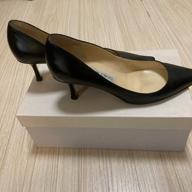 JIMMY CHOO(ジミーチュウ)のジミーチュウ 36ハーフ レディースの靴/シューズ(ハイヒール/パンプス)の商品写真