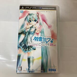 セガ(SEGA)の初音ミク -プロジェクト ディーヴァ- 2nd PSP(携帯用ゲームソフト)