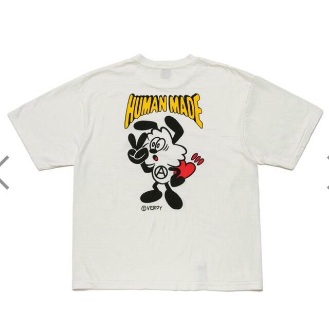 GDC(ジーディーシー)の専用 新品未使用 Humanmade Girls don't cry #2 XL メンズのトップス(Tシャツ/カットソー(半袖/袖なし))の商品写真