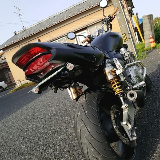 ヤマハ(ヤマハ)のヤマハXJR1300cc/新潟発/マッドブラックな粋な奴 自動車/バイクのバイク(車体)の商品写真