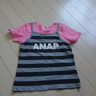 アナップキッズ(ANAP Kids)のanap kids 女の子 Tシャツ  120(Tシャツ/カットソー)