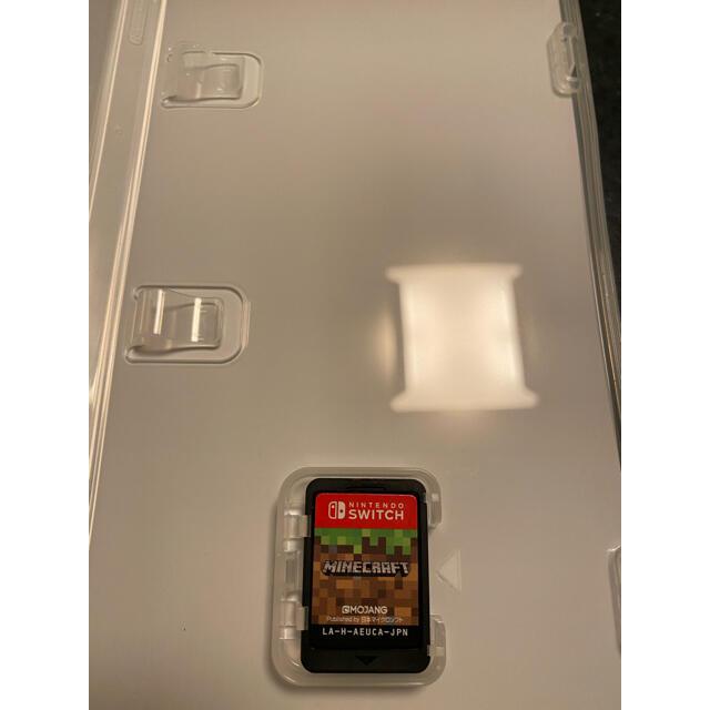 Nintendo Switch(ニンテンドースイッチ)のマインクラフト任天堂SWITCH エンタメ/ホビーのゲームソフト/ゲーム機本体(家庭用ゲームソフト)の商品写真