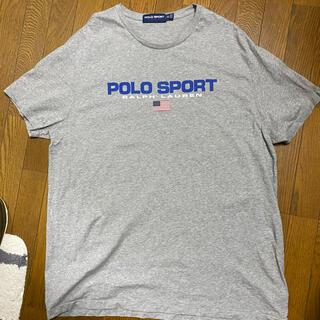 ポロラルフローレン(POLO RALPH LAUREN)の新品 Ralph Lauren POLO SPORT 復刻版 Tシャツ デカロゴ(Tシャツ/カットソー(半袖/袖なし))