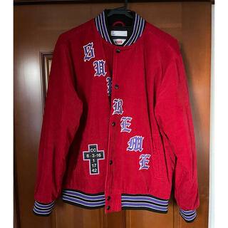 Supreme - Supreme old english stadium jacket Lサイズ