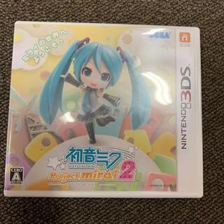 セガ(SEGA)の「初音ミク Project mirai 2」 (携帯用ゲームソフト)
