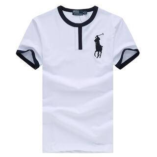 ポロラルフローレン(POLO RALPH LAUREN)の高品質男性用ポロ ラルフローレンTシャツ2色(Tシャツ/カットソー(半袖/袖なし))