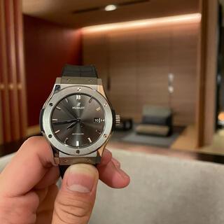 ウブロ(HUBLOT)のHUBLOT クラシックフュージョン レーシンググレー 42ミリ(腕時計(アナログ))