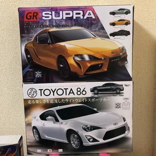 トヨタ(トヨタ)のラジコン 大人気!ハチロクとスープラ2台セット!(ホビーラジコン)