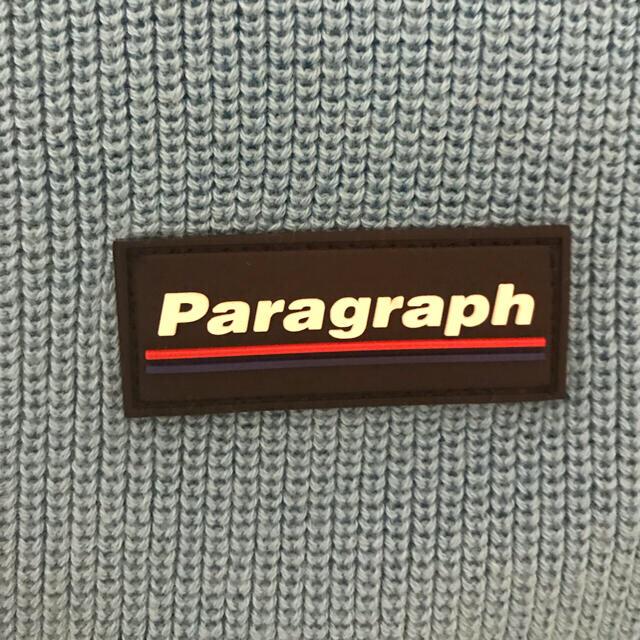 PARAGRAPH CLASSIC LOGO KNIT VEST パラグラフ メンズのトップス(ベスト)の商品写真