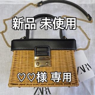 ZARA - 【新品】ZARA カゴバック