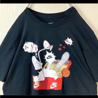 ナイキ(NIKE)のNIKE ナイキ Tシャツ 半袖 ブラック スニーカーボックスびっくり箱 S(Tシャツ/カットソー(半袖/袖なし))