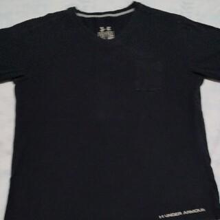 UNDER ARMOUR - アンダーアーマー  Vネックシャツ 黒系