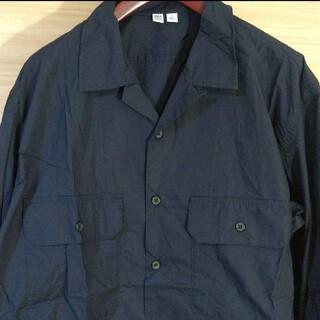 UNIQLO - UNIQLO U ユニクロユー 開襟シャツ オープンカラーシャツ ワークシャツ