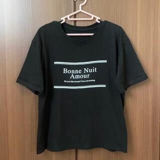 デュラス(DURAS)の本日限り‼️DURAS ロゴ入り Tシャツ ブラック(Tシャツ(半袖/袖なし))