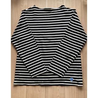 オーシバル(ORCIVAL)のオーシバルボーダーカットソーメンズM⭐︎(Tシャツ/カットソー(七分/長袖))