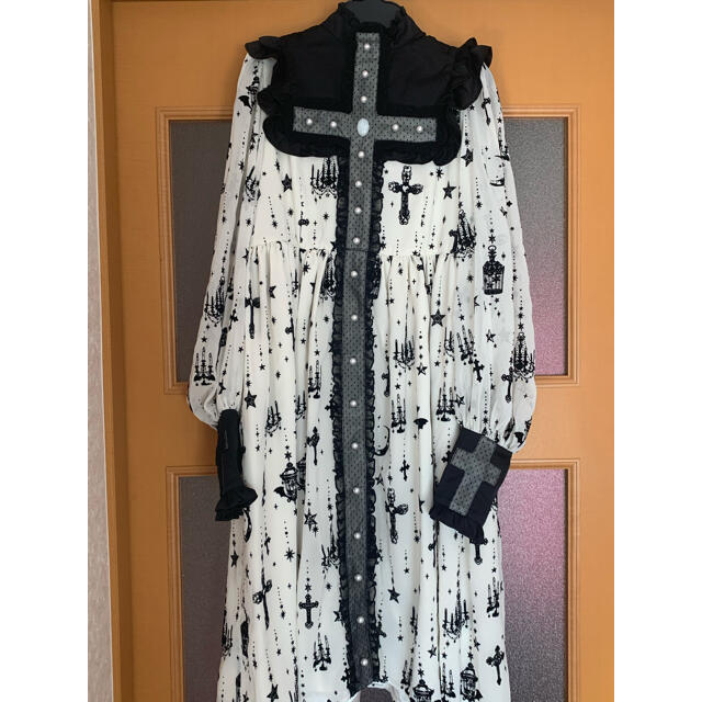 Angelic Pretty(アンジェリックプリティー)のHoly Lantern cross dress レディースのワンピース(ひざ丈ワンピース)の商品写真
