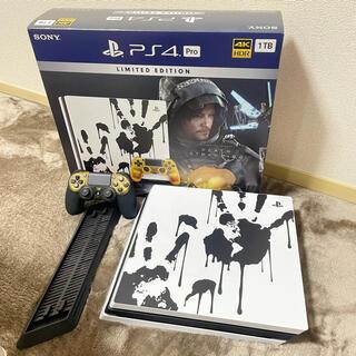 プレイステーション4(PlayStation4)のPS4 Pro 1TB プレイステーション4 デスストランディングエディション(家庭用ゲーム機本体)