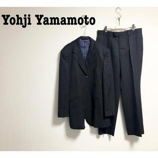 Yohji Yamamoto - 古着 Yohji Yamamoto A.A.R セットアップ ジャケット モード