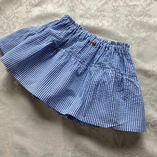 ハンドメイド ベビースカート付きブルマ、かぼちゃパンツ70〜80サイズ(スカート)