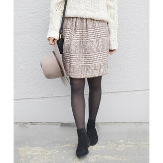 シップスフォーウィメン(SHIPS for women)のツイードスカート(ひざ丈スカート)