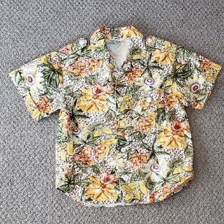 再値下げ 美品 アロハシャツ 綿 コットン シャツ 日本製 夏(ブラウス)