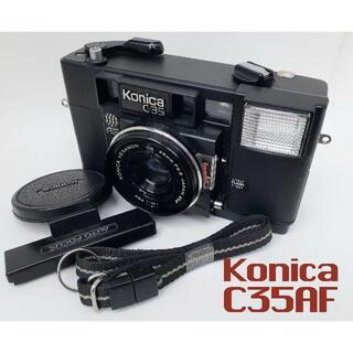 コニカミノルタ(KONICA MINOLTA)の実写済み・しっかり撮るならヘキサノンレンズ「コニカC35AF」(フィルムカメラ)