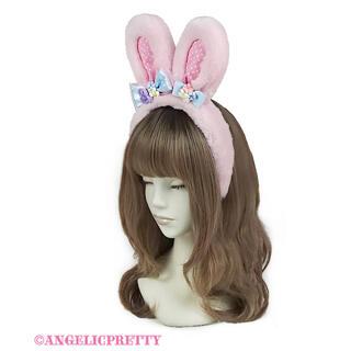 アンジェリックプリティー(Angelic Pretty)の本日発送 AngelicPretty Spring Bunnyカチューシャ(カチューシャ)