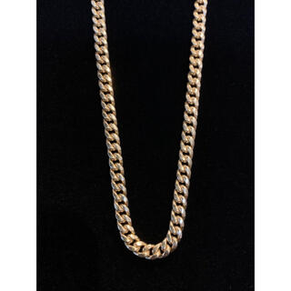 アヴァランチ(AVALANCHE)の10k  マイアミキューバン ネックレス 4.5mm 60cm アバランチ(ネックレス)