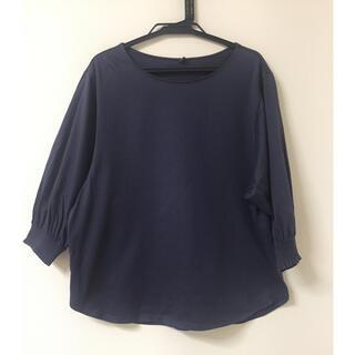 UNIQLO - UNIQLO✨綿100% 七分袖Tシャツ