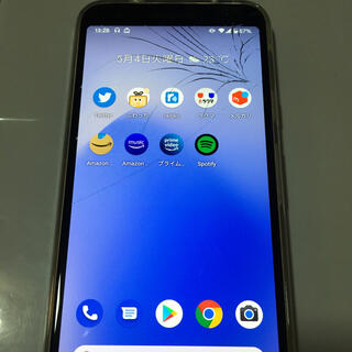 Google - Google pixel3a 本体 SIMフリー 画面割れその他良好