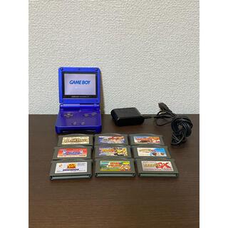 ゲームボーイアドバンス - Nintendo GAMEBOY アドバンス SP 本体 ブルー 動作確認済