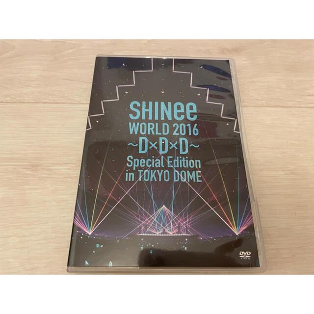 SHINee(シャイニー)のSHINeeWORLD2016D×D×DSpecialTOKYO DOME2枚組 エンタメ/ホビーのDVD/ブルーレイ(ミュージック)の商品写真