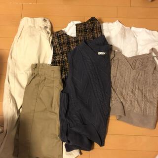 ジーユー(GU)のまとめ売り 7着(セット/コーデ)