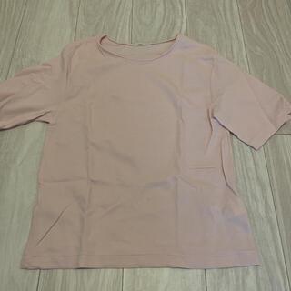 イエナスローブ(IENA SLOBE)のIENA Tシャツ pink(Tシャツ/カットソー(半袖/袖なし))