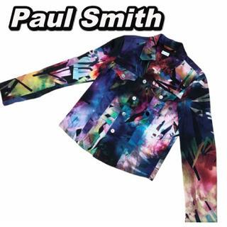 ポールスミス(Paul Smith)のPaul Smith マルチカラー ジャケット 長袖シャツ 幾何学模様(シャツ/ブラウス(長袖/七分))