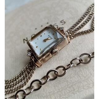 NOJESS - ノジェス腕時計 美品レディースケース&ブレスクォーツ