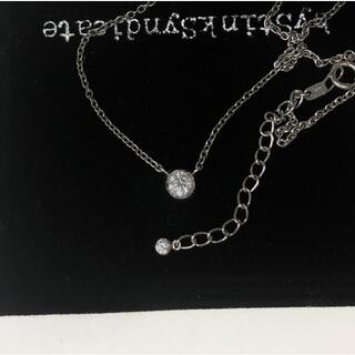 STAR JEWELRY - STAR JEWELRY Pt0.20ct ダイヤネックレス