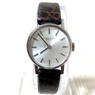 インターナショナルウォッチカンパニー(IWC)のIWC インターナショナルウオッチカンパニー 手巻き式レディース腕時計(腕時計)