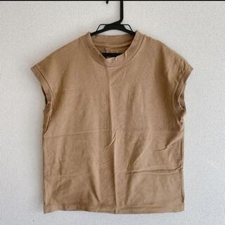 MUJI (無印良品) - 無印良品 フレンチスリーブTシャツ