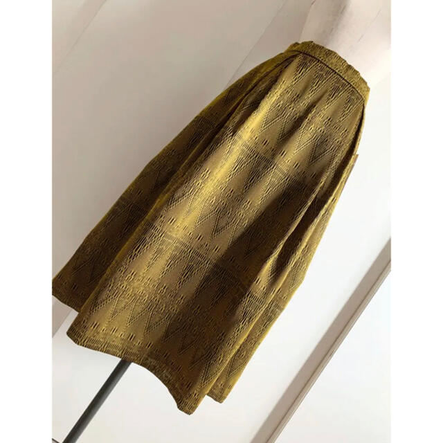 GRACE CONTINENTAL(グレースコンチネンタル)のGRACE CONTINENTAL 31,900円新品 刺繍カラミキカスカート レディースのスカート(ロングスカート)の商品写真