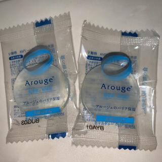 アルージェ(Arouge)のアルージェ モイスチャークリアソープ 洗顔石けん ミニ 2個(洗顔料)